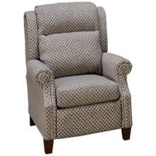 Klaussner Home Furnishings Serena Power Recliner with Tilt Headrest