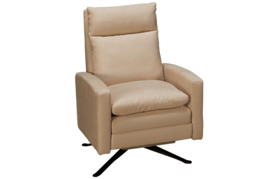 American Leather Simon Pushback Swivel Recliner