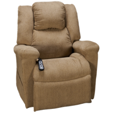 UltraComfort Daydreaming Power Lift Recliner with Tilt Headrest and Lumbar