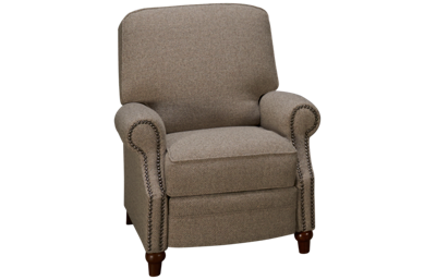Klaussner Home Furnishings Cliffside Accent Pushback Recliner