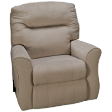 Klaussner Home Furnishings Schwartz Rocker Recliner