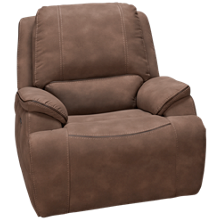 Man Wah Hampton Power Recliner with Tilt Headrest