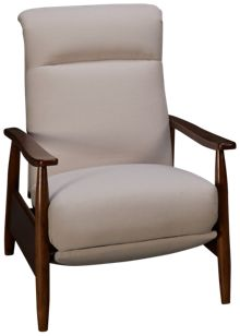 Klaussner Home Furnishings Karalynn Accent High Leg Recliner