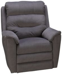 Klaussner Home Furnishings Nola Power Rocker Recliner with Power Headrest & Lumbar