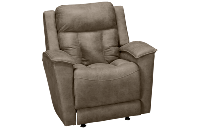 Klaussner Home Furnishings Clifford Power Rocker Recliner with Tilt Headrest and Lumbar