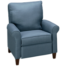 Klaussner Home Furnishings Township Power High Leg Recliner