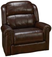 Synergy Palermo Leather Power Wall Recliner with Power Tilt Headrest