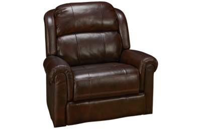 Synergy Palermo Leather Power Wall Recliner with Tilt Headrest