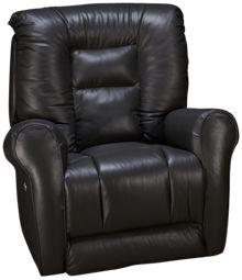 Southern Motion Grand Leather Power Rocker Recliner with Power Headrest