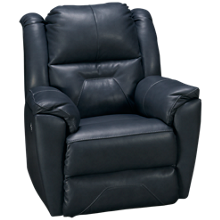 Southern Motion Pandora Leather Power Wall Recliner with Tilt Headrest