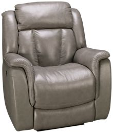 Futura Roswell Leather Power Recliner with Power Headrest