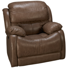 Futura Alta Power Leather Recliner with Power Tilt Headrest