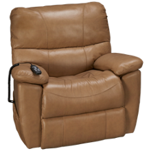 Synergy Crawford Leather Power Lift Recliner