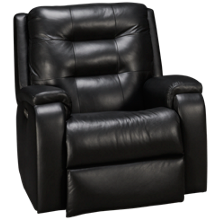 Flexsteel Arlo Leather Power Rocker Recliner with Tilt Headrest