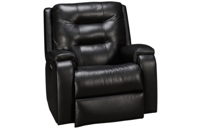 Flexsteel Arlo Leather Power Rocker Recliner with Tilt