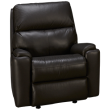 Flexsteel Rio Leather Power Recliner with Tilt Headrest