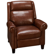 Simon Li Belmont Leather Power Recliner with Tilt Headrest