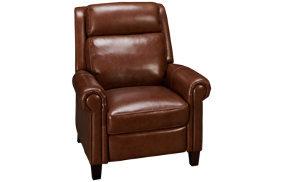 Simon Li Belmont Leather Power Recliner with Tilt