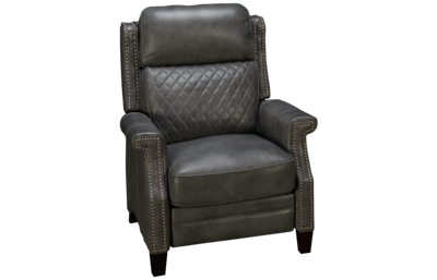 Simon Li Cesena Leather Power Recliner with Tilt Headrest