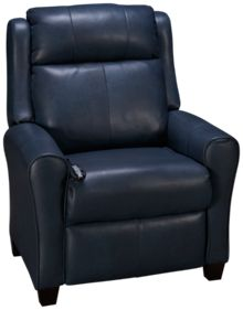 Southern Motion Cool Springs Leather Power Recliner with Power Headrest