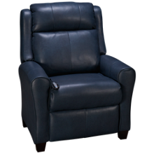 Southern Motion Cool Springs Leather Power Recliner with Tilt Headrest