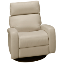 American Leather Dexter Leather Power Swivel Recliner