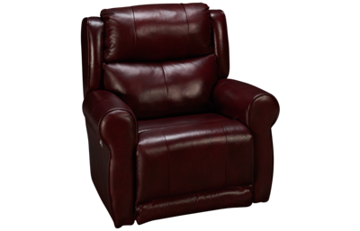 Southern Motion Hamilton Leather Power Wall Recliner with