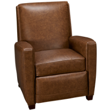 Huntington House Roll Nail Leather Power Recliner