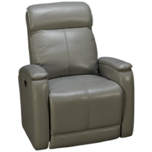 Futura Andros Leather Power Recliner with Tilt Headrest