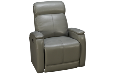 Futura Andros Leather Power Recliner with Headrest