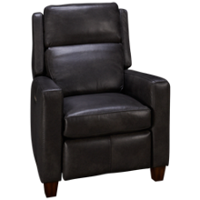 Flexsteel Lennox Leather Power Recliner with Tilt Headrest