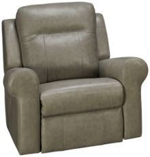 Palliser Vega Leather Power Rocker Recliner with Power Tilt Headrest