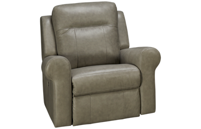 Palliser Vega Leather Power Rocker Recliner with Power
