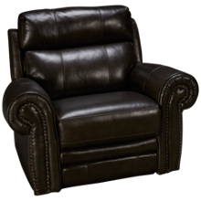 HTL Furniture Boddington 2 Leather Power Recliner with Tilt Headrest