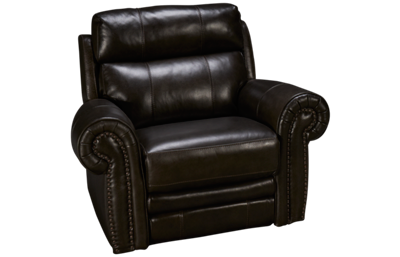 HTL Furniture Boddington 2 Leather Power Recliner with