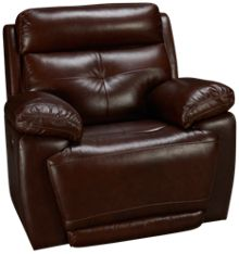 Futura Archer Leather Power Recliner with Power Tilt Headrest