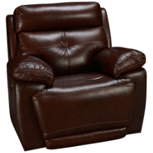 Futura Archer Leather Power Recliner with Tilt Headrest