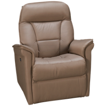Palliser Stonegate Leather Power Swivel Glider with Tilt Headrest
