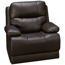 Palliser Kenaston Leather Power Wall Recliner with Tilt Headrest