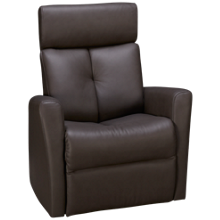 Palliser Prodigy Leather Power Swivel Glider Recliner with Tilt Headrest