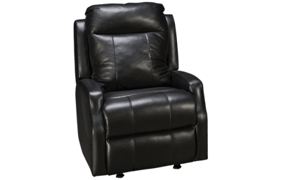 Klaussner Home Furnishings Mirra Leather Power Rocker Recliner