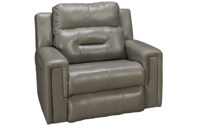 Southern Motion Excel Leather Power Recliner with Tilt Headrest