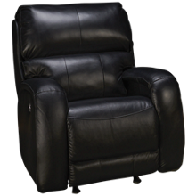 Southern Motion Fandango Leather Power Rocker Recliner with Tilt Headrest