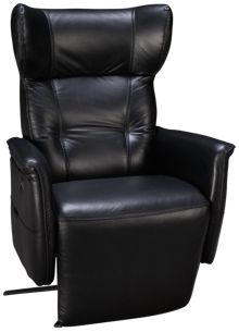 HTL Furniture Jetson Power Leather Recliner