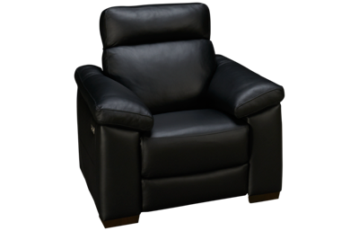Natuzzi Editions Estremo Leather Power Recliner with Tilt