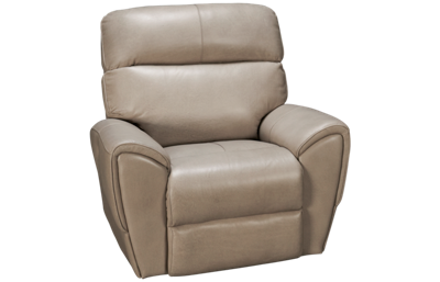 Synergy Dakota Leather Power Recliner with Tilt Headrest