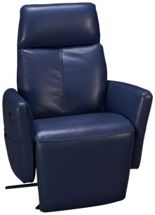 HTL Furniture Duke Power Leather Recliner
