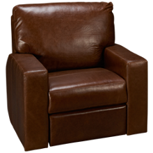 Soft Line Energia Leather Power Recliner