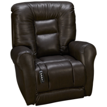 Southern Motion Grand Leather Power Lift Recliner with Tilt Headrest