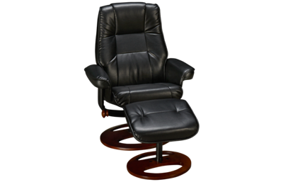 Benchmaster Panther Swivel Chair & Ottoman